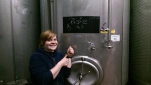 Moni Meinel ist stolz auf die Bierfee