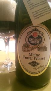 """""""Meine Porter Weisse"""""""
