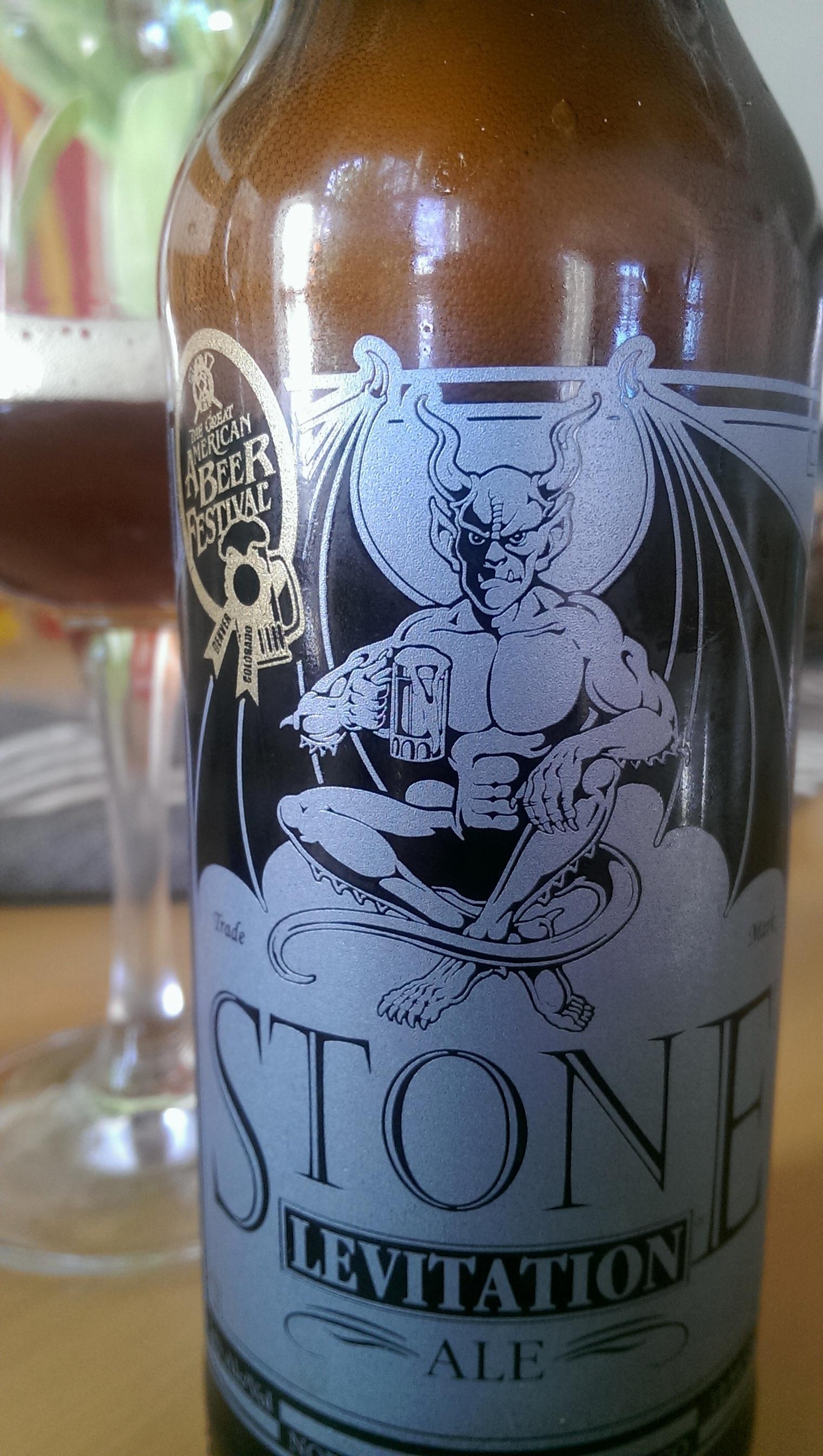 Stone Levitation Ale : Stone levitation ale teuflisches leichtbier aus