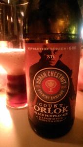 Count Orlok Pumkin Ale